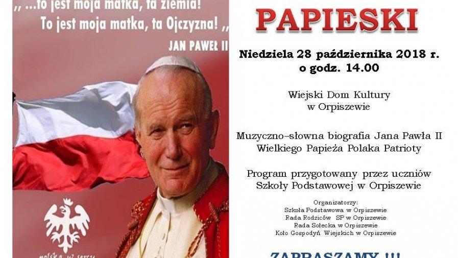 Muzyczno - słowna biografia Jana Pawła II